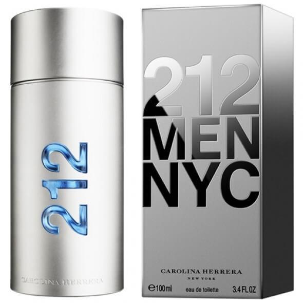 Perfume Carolina Herrera 212 NYC Hombre