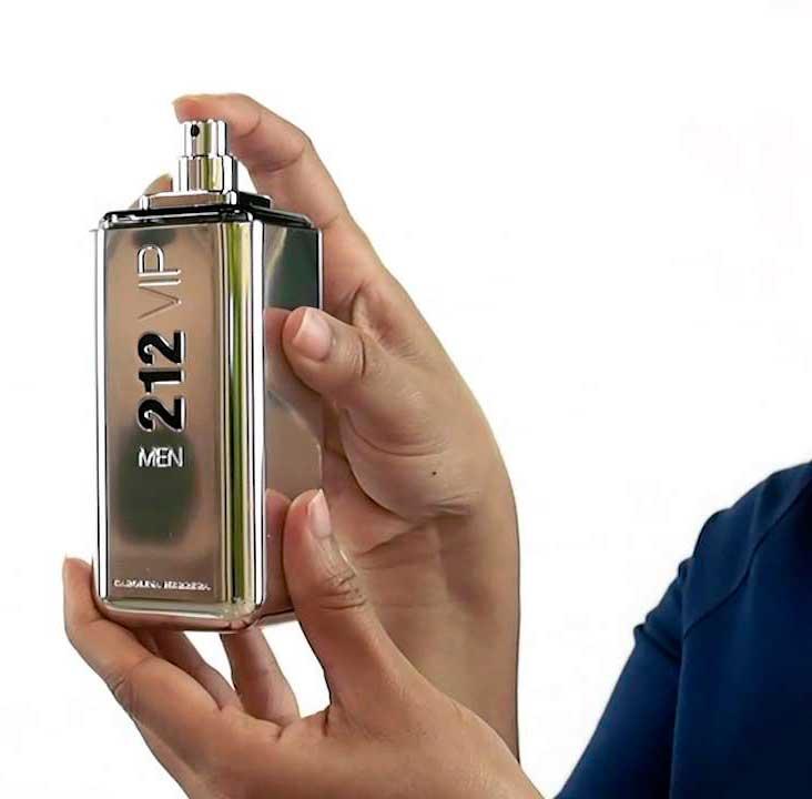 Perfume Carolina Herrera 212 Vip Hombre Fragancia Fiestera